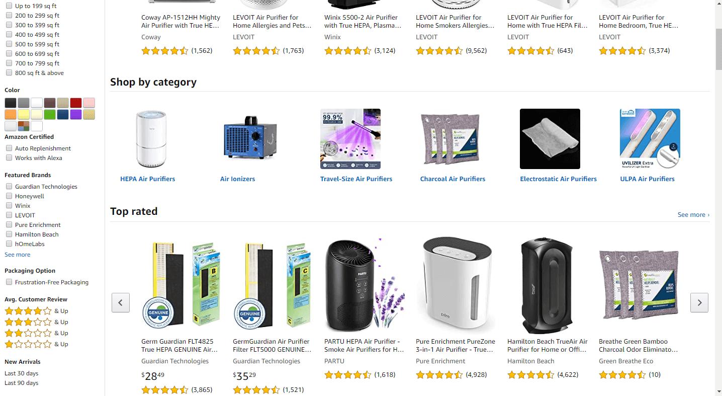 where to buy an air purifier