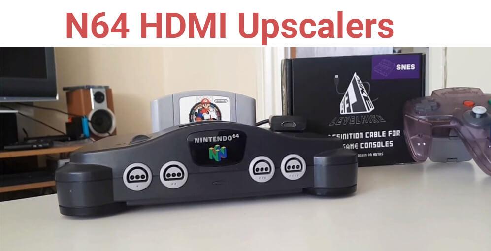 N64 HDMI Upscaler
