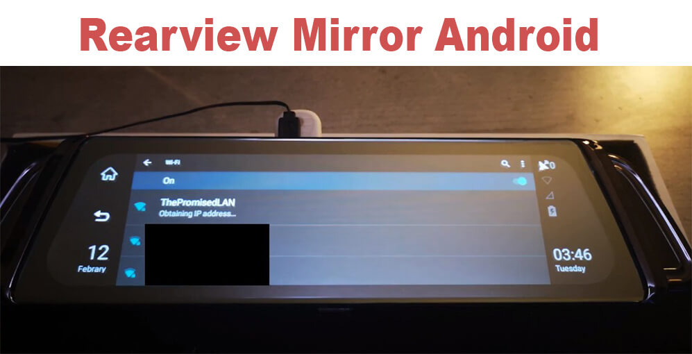 Android Rear View Mirror DVR - Unboxing, Review & More