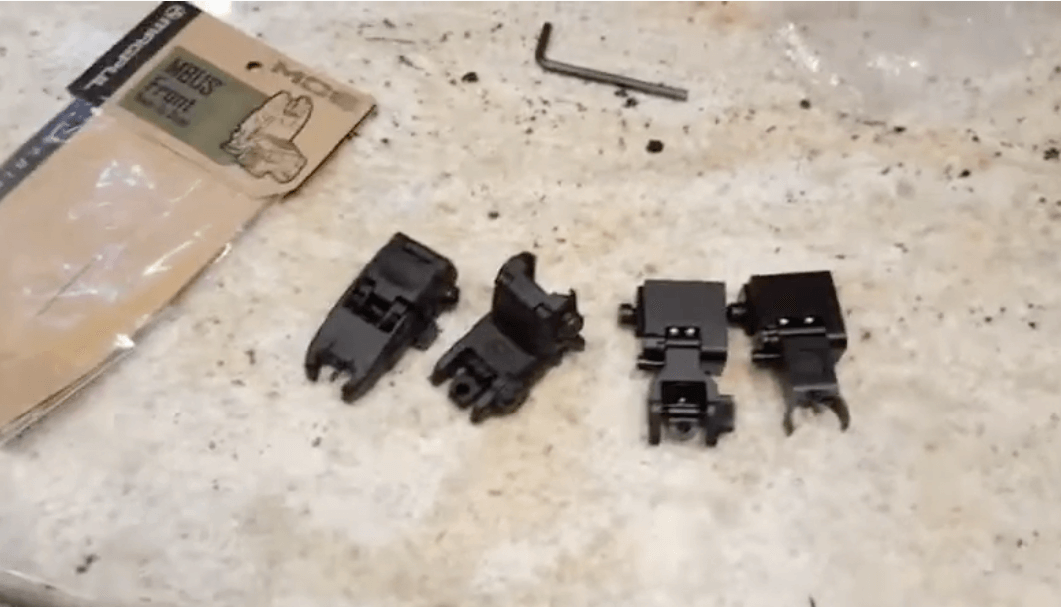 best Picatinny Iron Sights