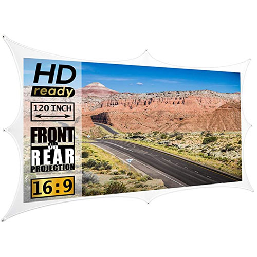 spandex projection screens